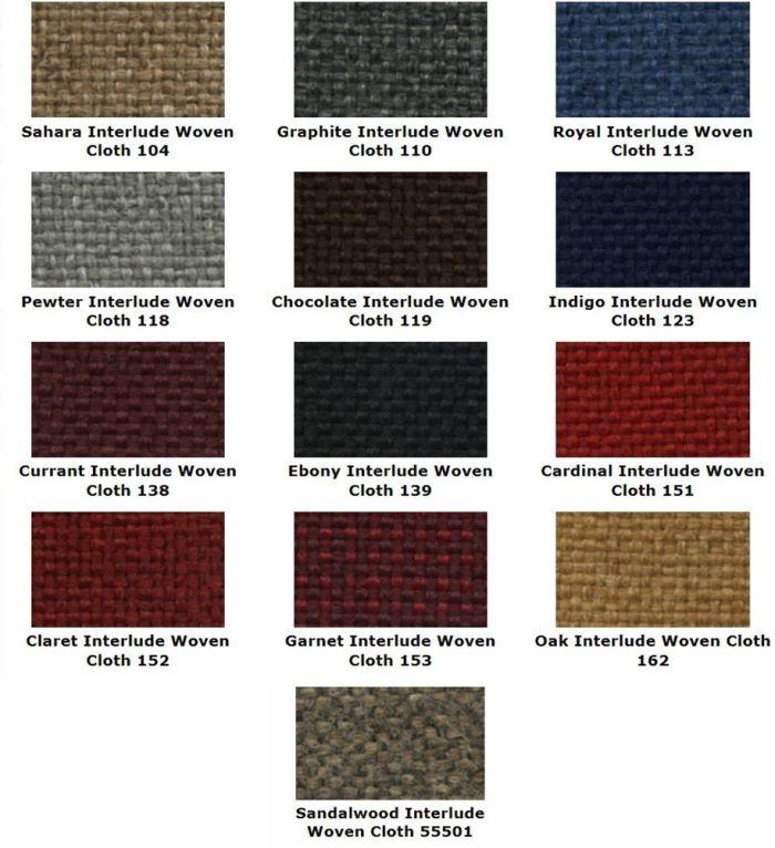 Acme U502-4545 Front Maroon Vinyl Bench Seat Upholstery