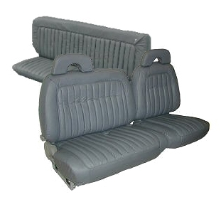 Chevrolet Truck Seat Covers 1992 1995 With 60 40 Split Front Bench