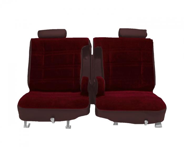 Car Seat Covers Black  El Camino