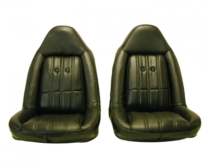 Chevrolet El Camino Seat Covers 1974 1977 With Swivel Front
